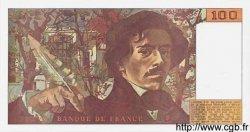 100 Francs DELACROIX imprimé en continu FRANCE  1990 F.69b.01 NEUF