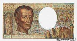 200 Francs MONTESQUIEU FRANCE  1986 F.70.06 NEUF