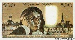 500 Francs PASCAL FRANCE  1968 F.71.00