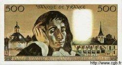 500 Francs PASCAL FRANCE  1968 F.71.02 pr.SUP