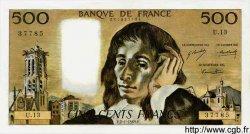 500 Francs PASCAL FRANCE  1969 F.71.03 pr.SPL
