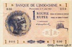 1 Roupie INDE FRANÇAISE  1923 P.004bs pr.SPL