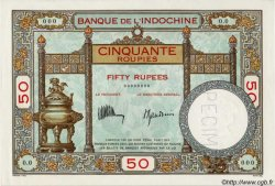 50 Roupies FRENCH INDIA  1932 P.007as