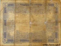 5 Francs, type 1916 NOUVELLE CALÉDONIE  1916 P.15a B+