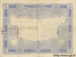 5 Francs, type 1916 NOUVELLE CALÉDONIE  1916 P.15a TTB