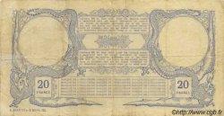 20 Francs, type III 1888 NOUVELLE CALÉDONIE  1913 P.16b TB+
