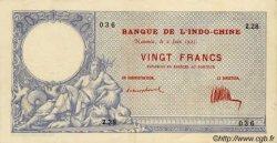 20 Francs NOUVELLE CALÉDONIE  1925 P.20 pr.SUP