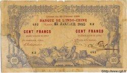 100 Francs, type II 1888 NOUVELLE CALÉDONIE  1895 P.12 B+