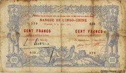 100 Francs, type IV 1888 NOUVELLE CALÉDONIE  1914 P.17 pr.TB