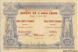 500 Francs, type I 1888 NOUVELLE CALÉDONIE  1898 P.13 TTB