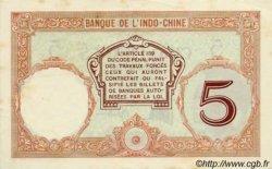 5 Francs Walhain, type 1926 NOUVELLE CALÉDONIE  1932 P.36b SUP