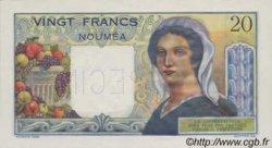 20 Francs NOUVELLE CALÉDONIE  1954 P.50bs NEUF