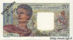 20 Francs NOUVELLE CALÉDONIE  1963 P.50cs NEUF