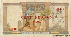 100 Francs NOUVELLE CALÉDONIE  1939 P.39s TTB
