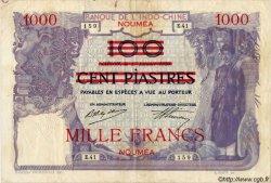 1000 Francs NOUVELLE CALÉDONIE  1939 P.40 TB+