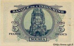 5 Francs impression australienne NOUVELLE CALÉDONIE  1944 P.48 pr.SPL