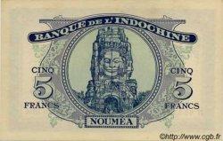 5 Francs impression australienne NOUVELLE CALÉDONIE  1944 P.48 pr.NEUF