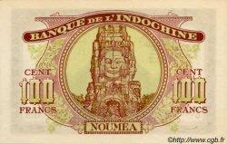 100 Francs impression australienne 1942 NOUVELLE CALÉDONIE  1942 P.44s SPL