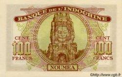 100 Francs NOUVELLE CALÉDONIE  1944 P.46b SPL