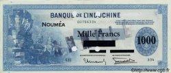 1000 Francs impression américaine 1941 NOUVELLE CALÉDONIE  1943 P.45s SPL