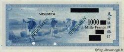 1000 Francs impression américaine 1944 NOUVELLE CALÉDONIE  1944 P.47bs SPL+
