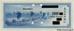 1000 Francs impression américaine 1944 NOUVELLE CALÉDONIE  1944 P.47bs SUP+