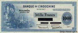 1000 Francs impression américaine 1944 NOUVELLE CALÉDONIE  1944 P.47b TTB+