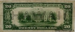 20 dollars HAWAII  1942 P.40 TB+