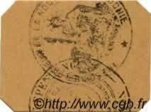 25 centimes timbre carton NOUVELLE CALÉDONIE  1914 P.23 NEUF