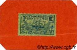 1 Franc timbre carton NOUVELLE CALÉDONIE  1914 P.26 NEUF