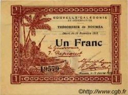 1 Franc type I NOUVELLE CALÉDONIE  1919 P.31 SPL