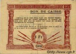 1 Franc NOUVELLE CALÉDONIE  1919 P.34b TTB