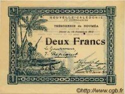 2 Francs NOUVELLE CALÉDONIE  1919 P.32 SPL