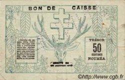 50 Centimes NOUVELLE CALÉDONIE  1943 P.54s TTB