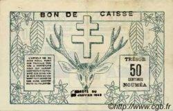 50 Centimes NOUVELLE CALÉDONIE  1943 P.54 TTB