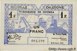 1 Franc type I NOUVELLE CALÉDONIE  1943 P.55b SUP
