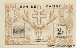 2 Francs type I NOUVELLE CALÉDONIE  1943 P.56b pr.SUP