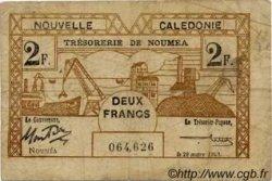 2 Francs type II NOUVELLE CALÉDONIE  1943 P.56a