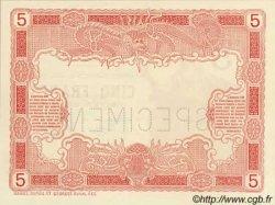 5 Francs TAHITI  1905 P.01a vars NEUF
