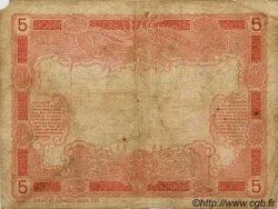 5 Francs TAHITI  1920 P.04 var B