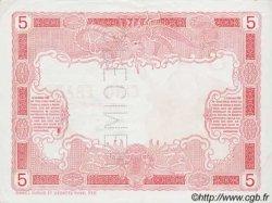 5 Francs TAHITI  1923 P.04s SPL