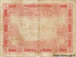 5 Francs TAHITI  1923 P.04 B+