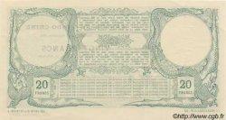 20 Francs TAHITI  1905 P.02 pr.NEUF