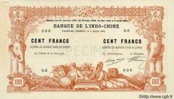 100 Francs TAHITI  1905 P.03 vars SPL