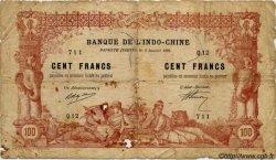 100 Francs TAHITI  1920 P.06b B