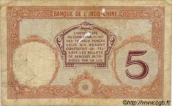 5 Francs Walhain TAHITI  1932 P.11b B