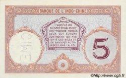 5 Francs Walhain TAHITI  1936 P.11cs NEUF