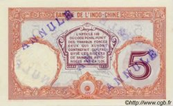 5 Francs Walhain TAHITI  1936 P.11c NEUF