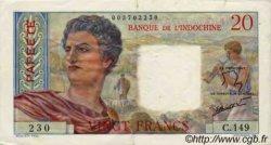 20 Francs TAHITI  1960 P.21c TTB
