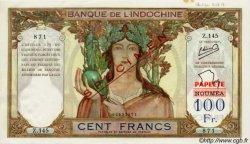 100 Francs TAHITI  1963 P. -s SPL